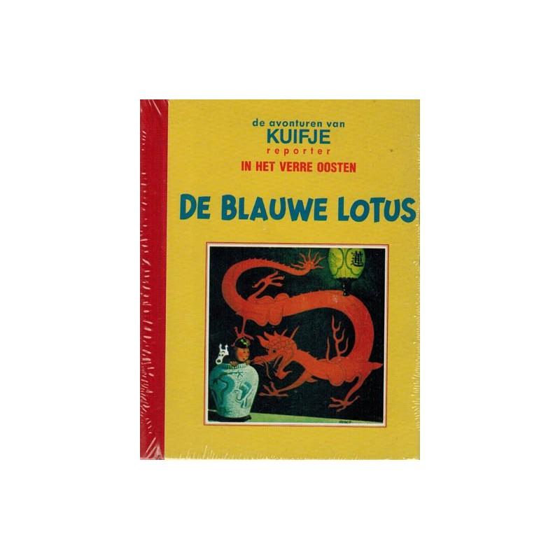 Kuifje mini-album facsimile HC De blauwe lotus 1e druk 1992