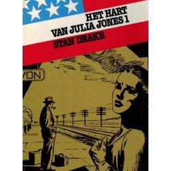 Amerikaanse avonturenreeks 03 HC Het hart van Julia Jones 1e druk 1982