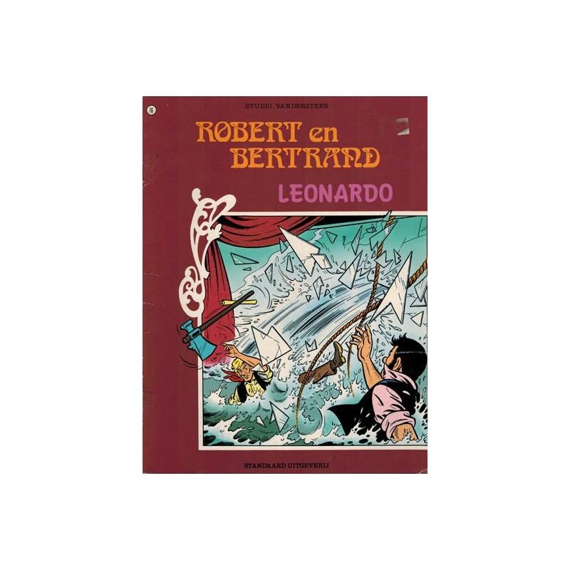 Robert en Bertrand 076 Leonardo 1e druk 1987