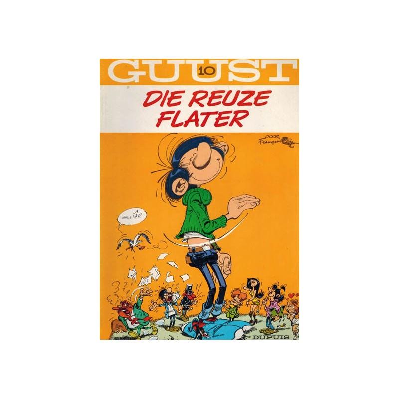 Guust Flater 10 Die reuze Flater herdruk (achterkant jongleert)