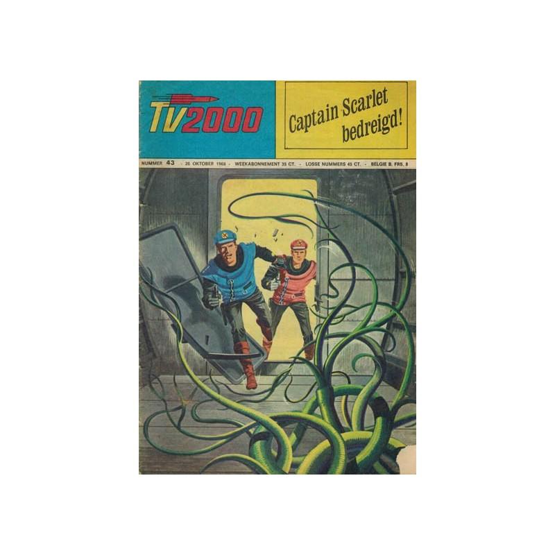 TV2000 43 Captain Scarlet bedreigd! 1e druk 1968
