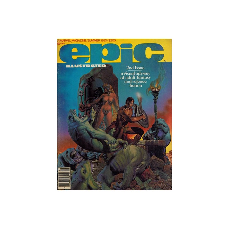 Epic illustrated 02% first priting 1980