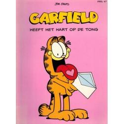 Garfield 067 Heeft het hart op de tong 1e druk 2002