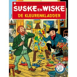 Suske & Wiske reclamealbum De Nederlandse avonturen 09 De kleurenkladder 1e druk 2009