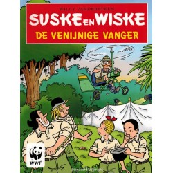 Suske & Wiske reclamealbum stickeralbum De venijnige vanger 1e druk 2009 [zonder plaatjes] WWF