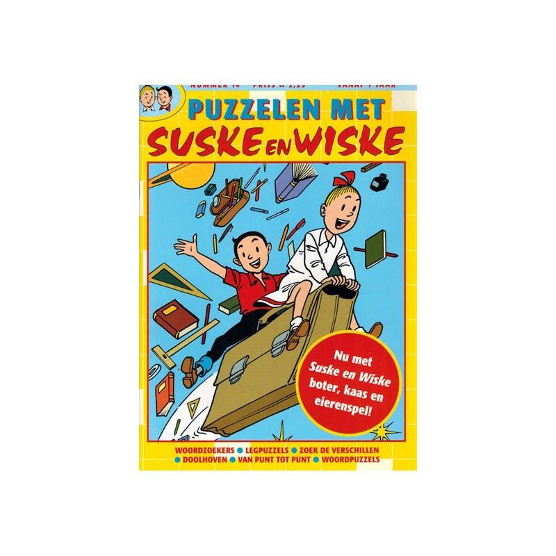 Suske & Wiske reclamealbum Puzzelen met Suske & Wiske 14 1e druk 2004