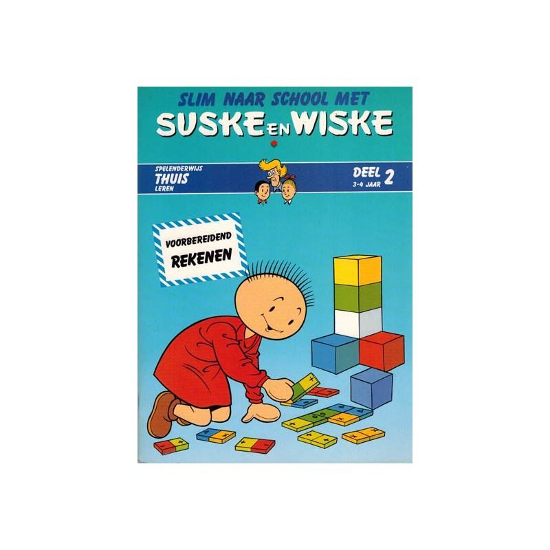 Suske & Wiske reclamealbum Slim naar school met Suske & Wiske 02 1e druk 1988