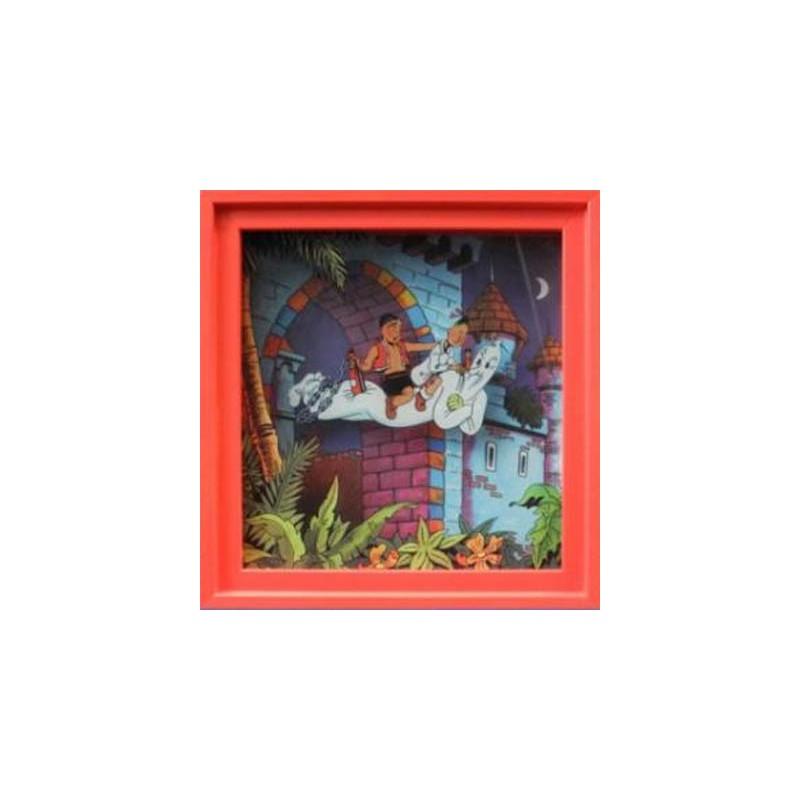Suske & Wiske  beeldje SW301 Shadowbox Eiland Amoras