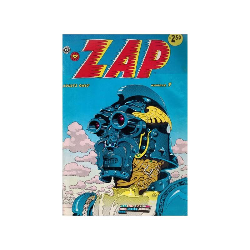 Zap 07 Engelstalig reprint 1974 (opdruk $2.50)