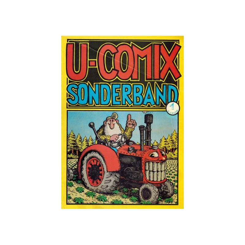 U-comix Sonderband 01 R. Crumb Duitstalig 1974