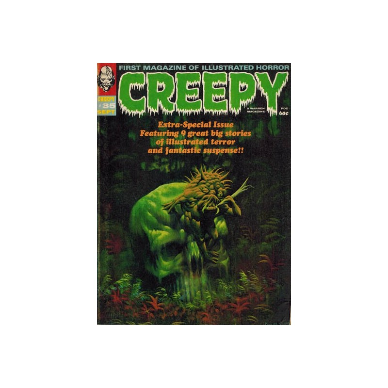 Creepy 035 1e druk 1970