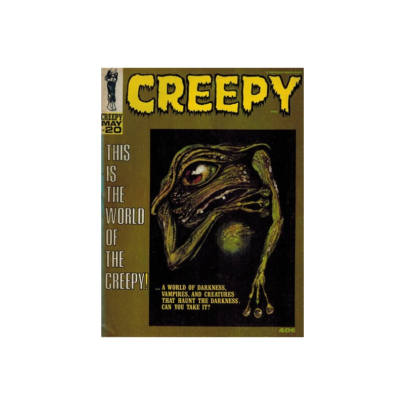 Creepy USA 020 1e druk 1968
