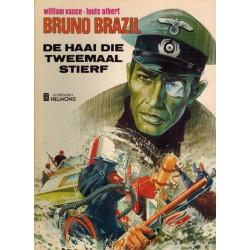 Bruno Brazil 01 De haai die tweemaal stierf 1e druk* Helmond 1975