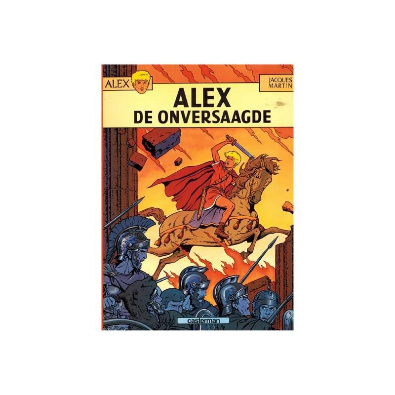 Alex 01 De onversaagde herdruk