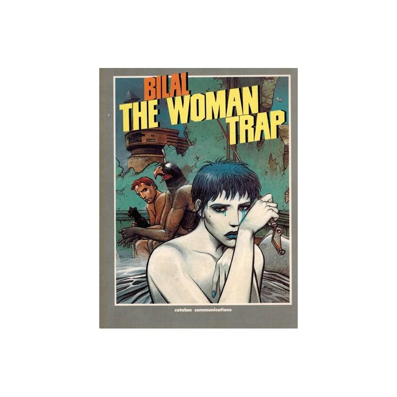The woman trap Engelstalig 1988 (inclusief krantje)
