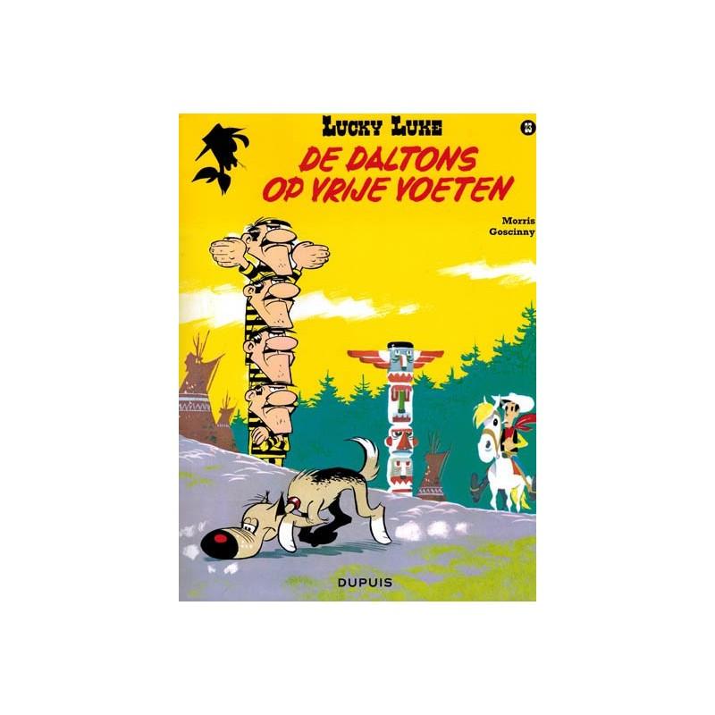 Lucky Luke    23 De Daltons op vrije voeten