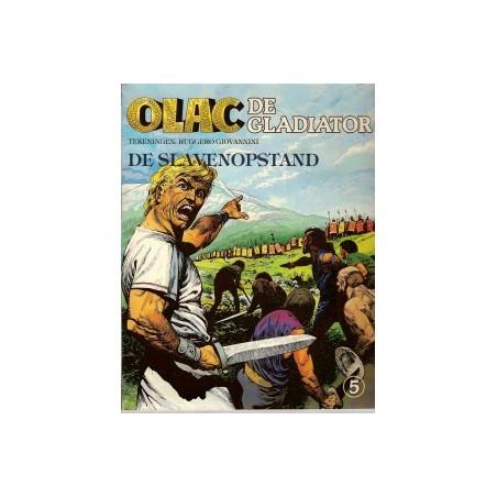 Olac de Gladiator 05 De slavenopstand 1e druk 1981