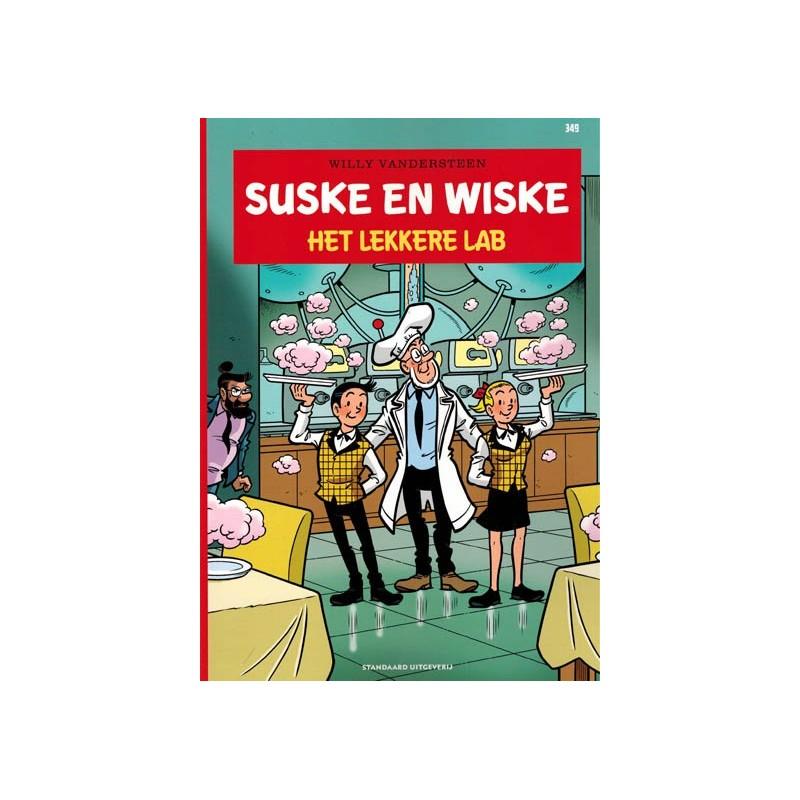 Suske & Wiske  349 Het lekkere lab (naar Willy Vandersteen)