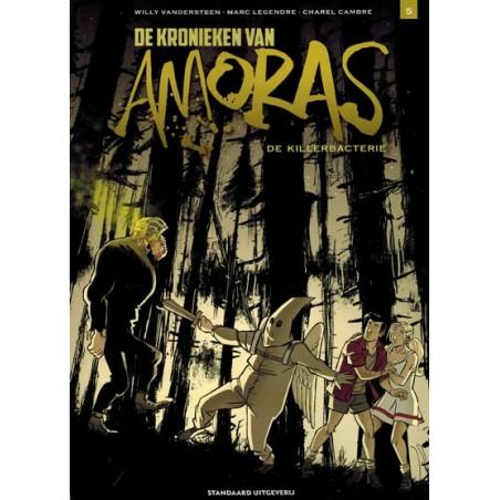 Suske & Wiske   Amoras 11 De kronieken 5 De killerbacterie (naar Willy Vandersteen)