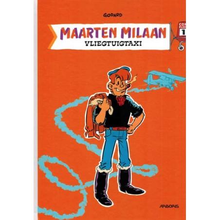 Maarten Milaan  integraal 01 HC Vliegtuigtaxi