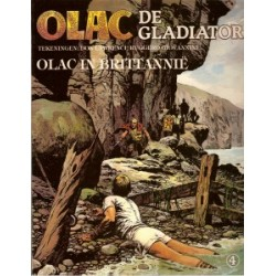 Olac de Gladiator 04<br>Olac in Brittanie<br>1e druk 1981