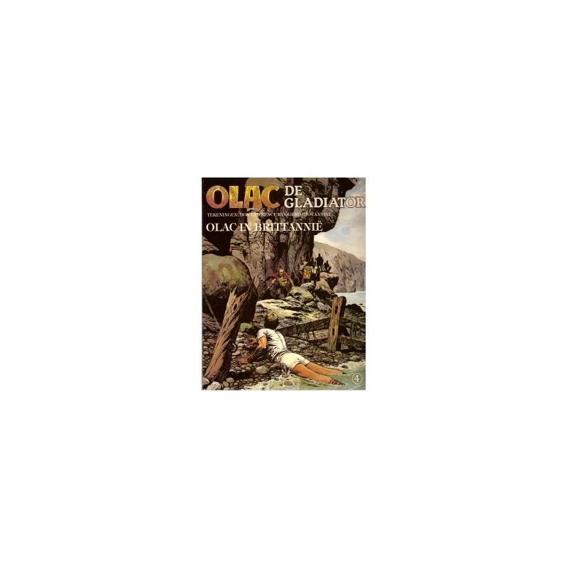Olac de Gladiator 04 Olac in Brittanie 1e druk 1981