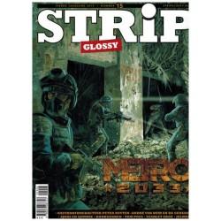 Strip glossy 15 Peter Nuyten Metro 2033, Spaghetti, De Macaroni's, Scarlet edge