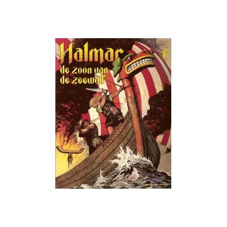 Halmar De zoon van de zeewolf 1e druk 1980
