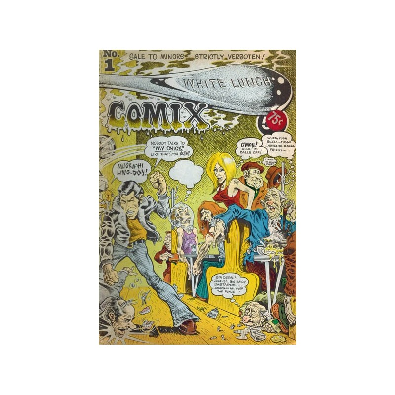 White lunch comix 01 first printing 1972