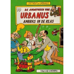 Urbanus 010 Ambras in de klas 1e druk 1986