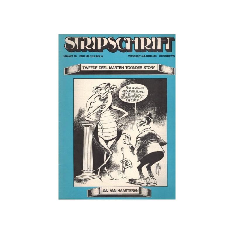 Stripschrift 070 1e druk 1974