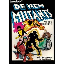 Marvelstrip 07 De New Mutants 1e druk 1985