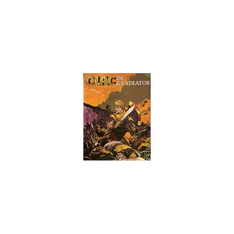 Olac de Gladiator Setje deel 1 t/m 8 1e drukken 1980-1982