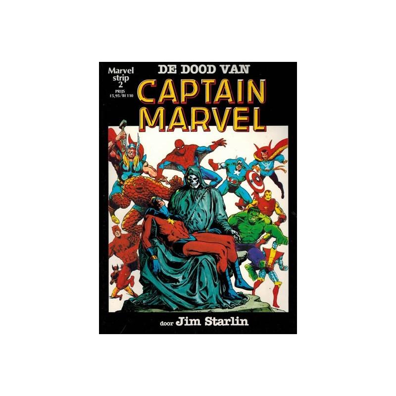 Marvelstrip 02 De dood van Captain Marvel 1e druk 1983