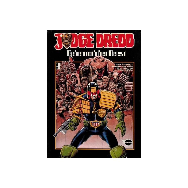 Judge Dredd album 02 Behemoth het Beest