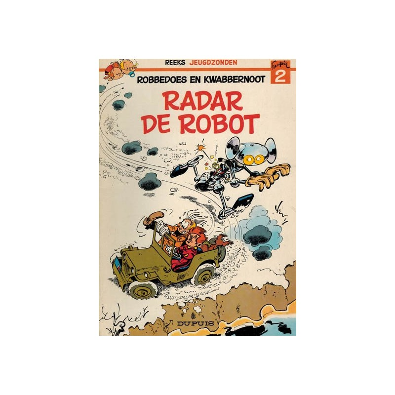 Jeugdzonden 02 Radar de robot 1e druk 1976