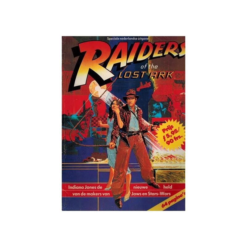 Indiana Jones Raiders of the lost ark filmspecial NL 1e druk 1981