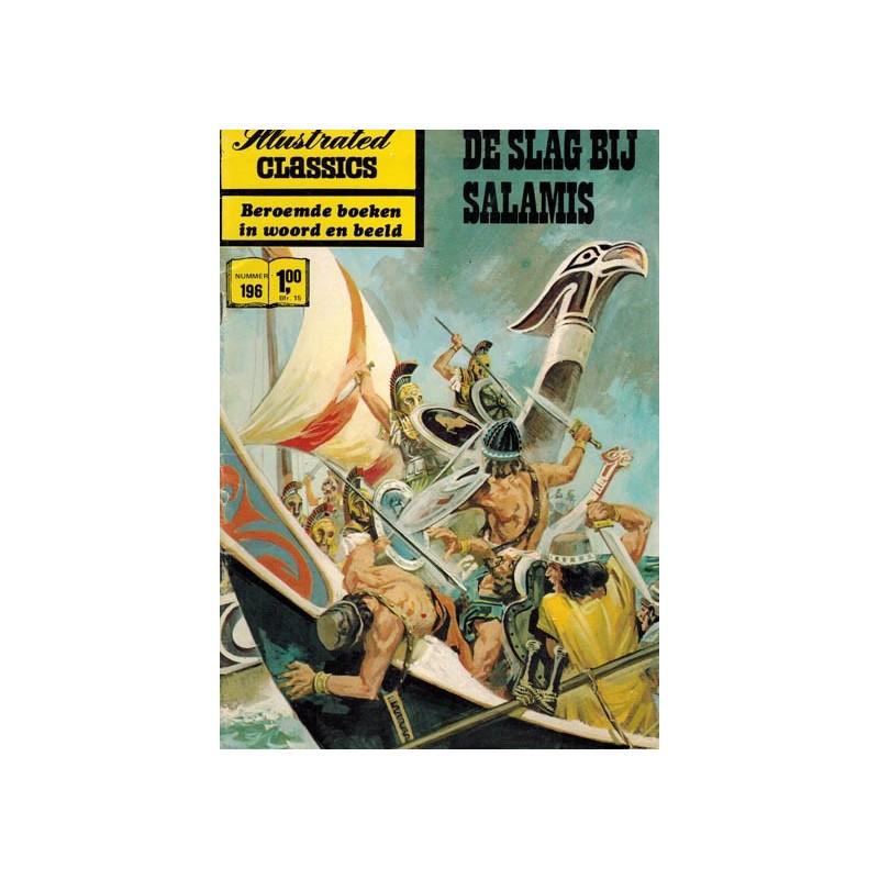 Illustrated classics 196 De slag bij Salamis 1e druk 1971