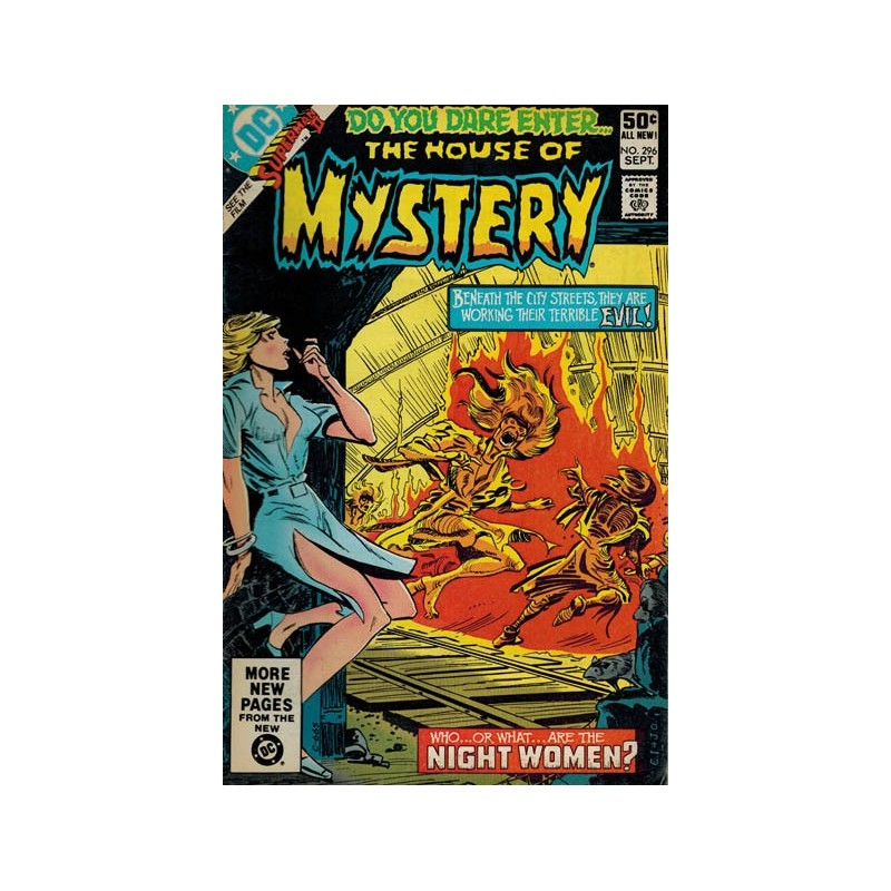 House of Mystery 296 first printing 1981