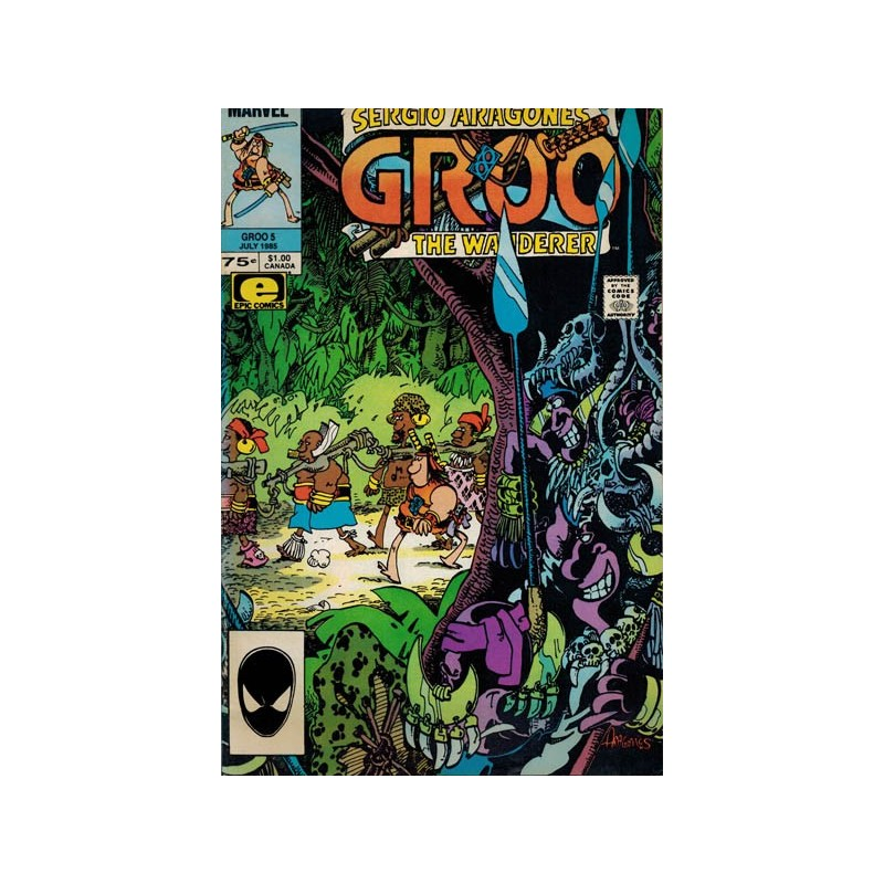Groo the wanderer 005 First printing 1985