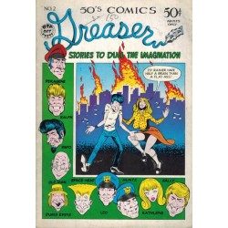 Greaser comics 02 first printing 1972