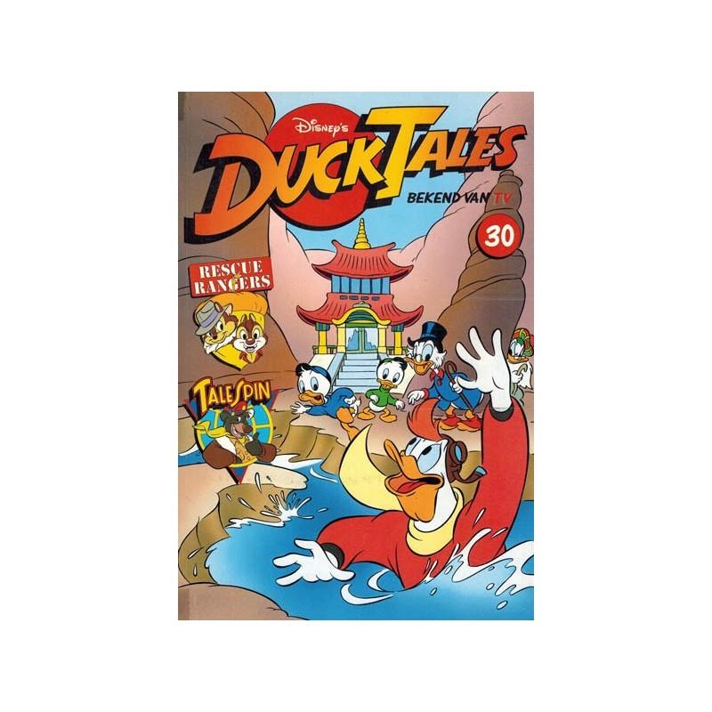 Ducktales 30 Strijd om de Tak Man Doe-tempel 1e druk 1995