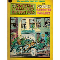 Cracked gangster gallery Cracked collector's edition 06 first printing 1974