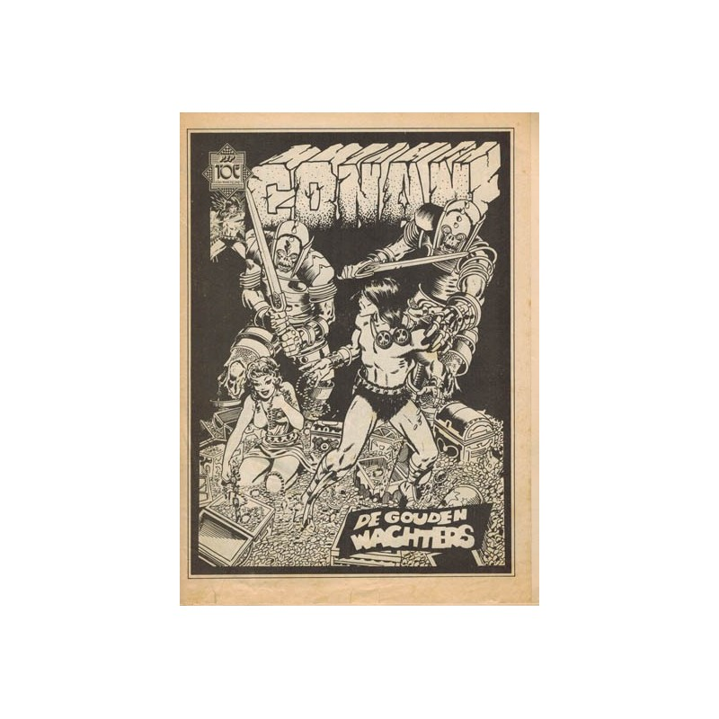 Conan Peptoe set deel 1 t/m 9 1e drukken 1974-1975