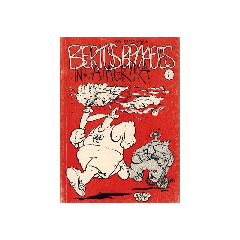 Bertus Braafjes 01 In Amerika 1e druk 1984