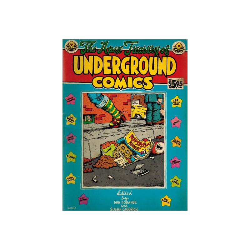 Apex treasury of underground comics reprint