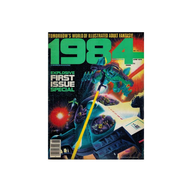 1984 US01 first printing 1978