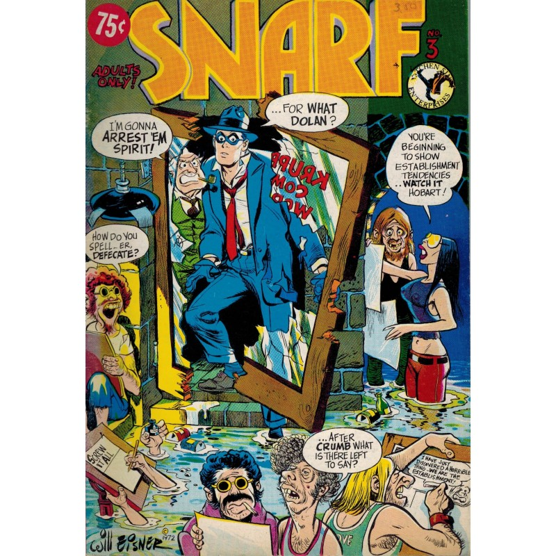 Snarf 03 first printing 1972 [Will Eisner cover]
