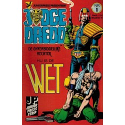 Judge Dredd JP set deel 1 t/m 7 1e drukken 1984-1985