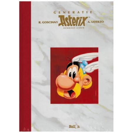 Asterix   Generatie Asterix  Hommage album Luxe HC (naar Uderzo & Goscinny)